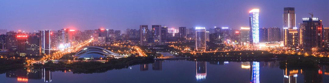 合肥城市风景图片夜景