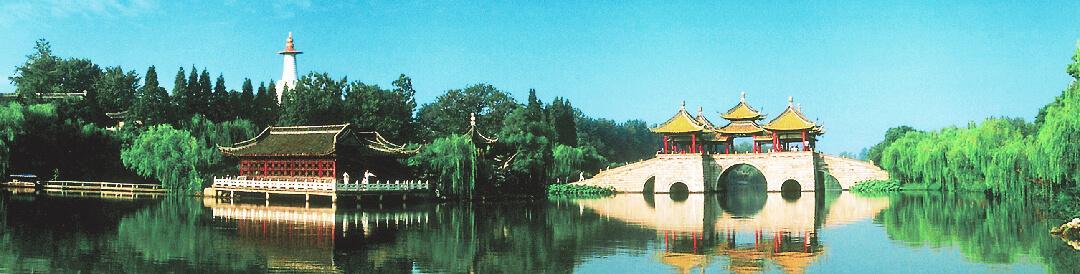 扬州风景简笔画