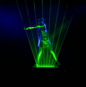 激光舞表演Y003998