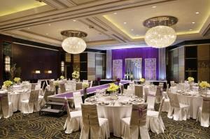 上海锦江汤臣洲际大酒店会议场地-新亚厅(婚宴)