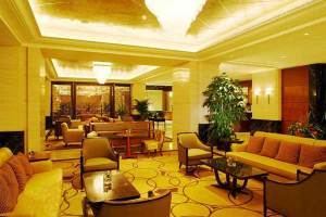 上海锦江饭店会议场地-酒店大堂