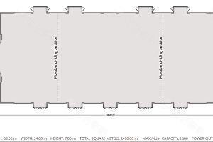 云南大宴会厅平面图