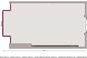 会议室11平面图