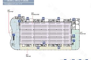 展厅1平面图
