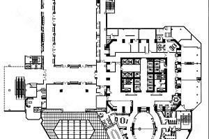 三楼会议中心平面图