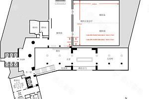 朝阳大宴会厅平面图