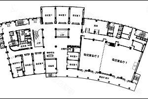 会议楼层平面图