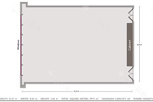 水晶厅5平面图