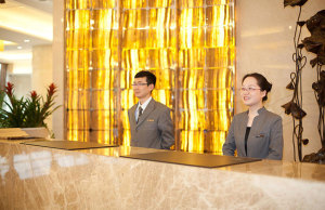上海中兴和泰酒店会议场地-酒店前台