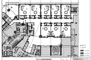 三楼多功能厅平面图
