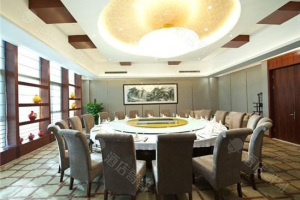 杭州紫金港国际饭店豪华包厢