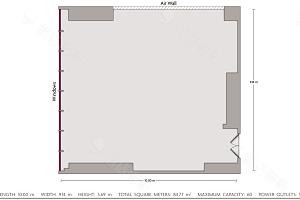水晶厅2平面图