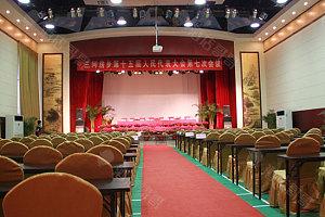 会议厅-课桌布置