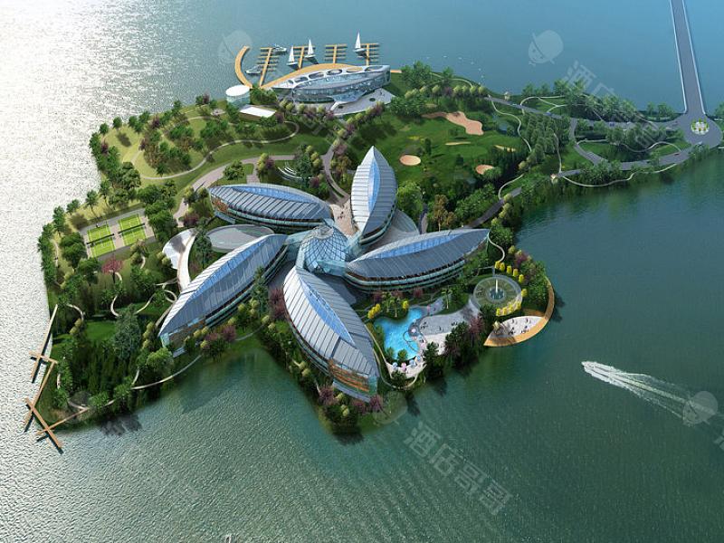 上海滴水湖皇冠假日酒店会议场地