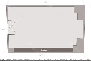会议室  4平面图