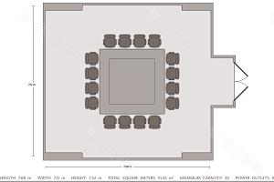 Meeting Room 3平面图