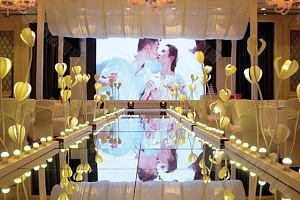 三楼银鑫厅婚礼现场