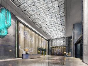 烟台万达文华酒店会议场地-大堂