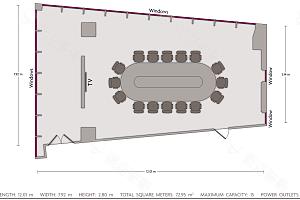 贵宾厅平面图
