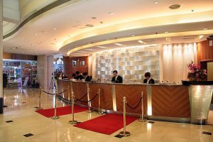 北京五环大酒店会议场地-大堂