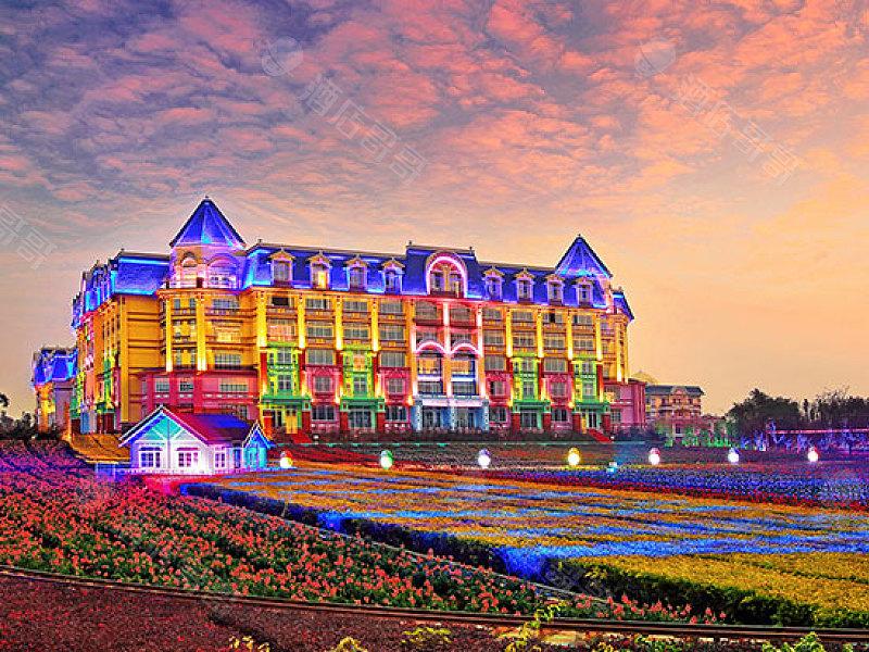 广州花之恋城堡酒店会议场地