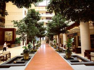 北京九华山庄贵宾楼大酒店会议场地-大堂