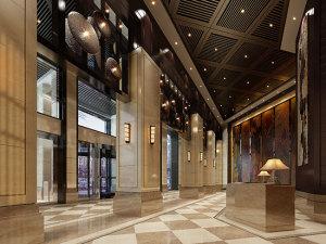 济南万金酒店会议场地-1F-大堂