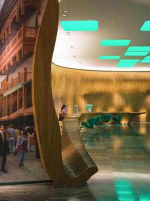 上海外滩英迪格酒店会议场地-服务台