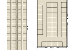 第一多功能厅平面图