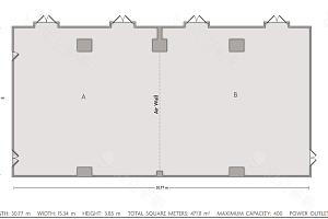 Crowne Ballroom平面图