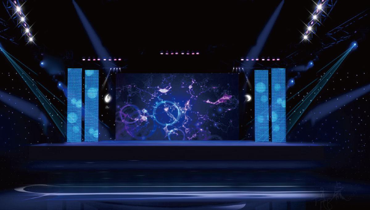 舞台效果图