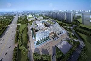 宁夏国际会堂外部景观