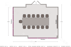 董事会议室平面图