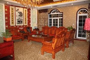 中式套房客厅