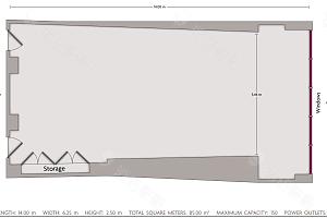 会议室 7平面图