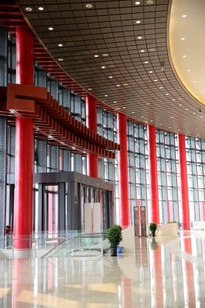 北京雁栖湖国际会展中心会议场地-场馆内环廊