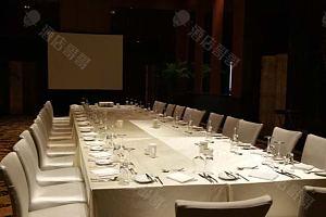 西安II厅 晚宴摆台