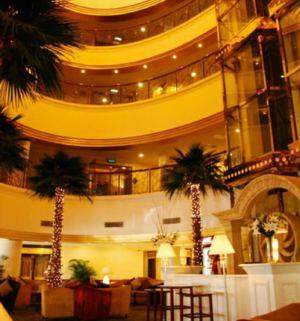 上海棕榈滩海景大酒店会议场地-酒店大堂