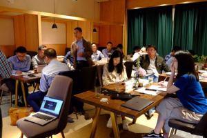 上海生活实验室小剧场会议场地-课桌式
