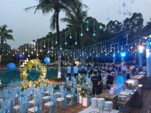 东莞唐拉雅秀酒店会议场地-婚礼仪式布置